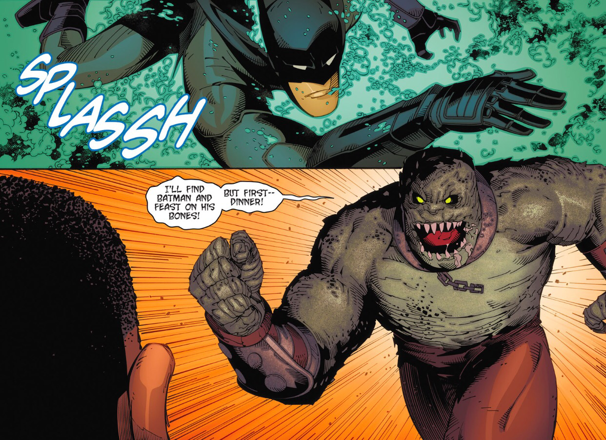 batman arkham knight vs killer croc