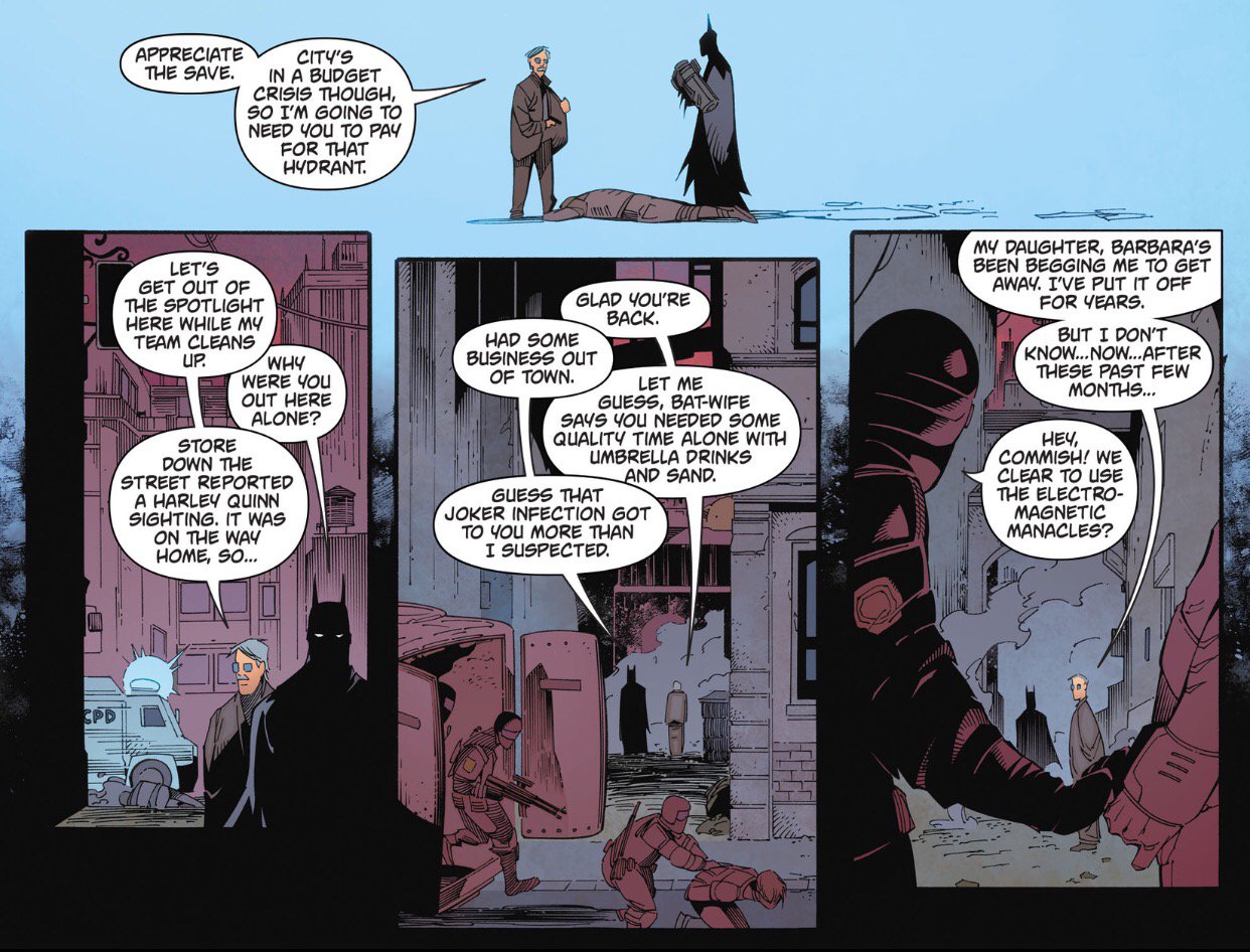 Batman Arkham Knight #11 – Batman vs  Kid Shark |