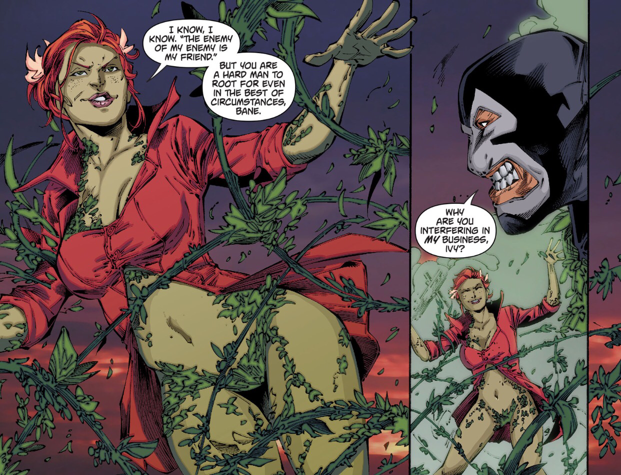 batman vs. bane poison ivy