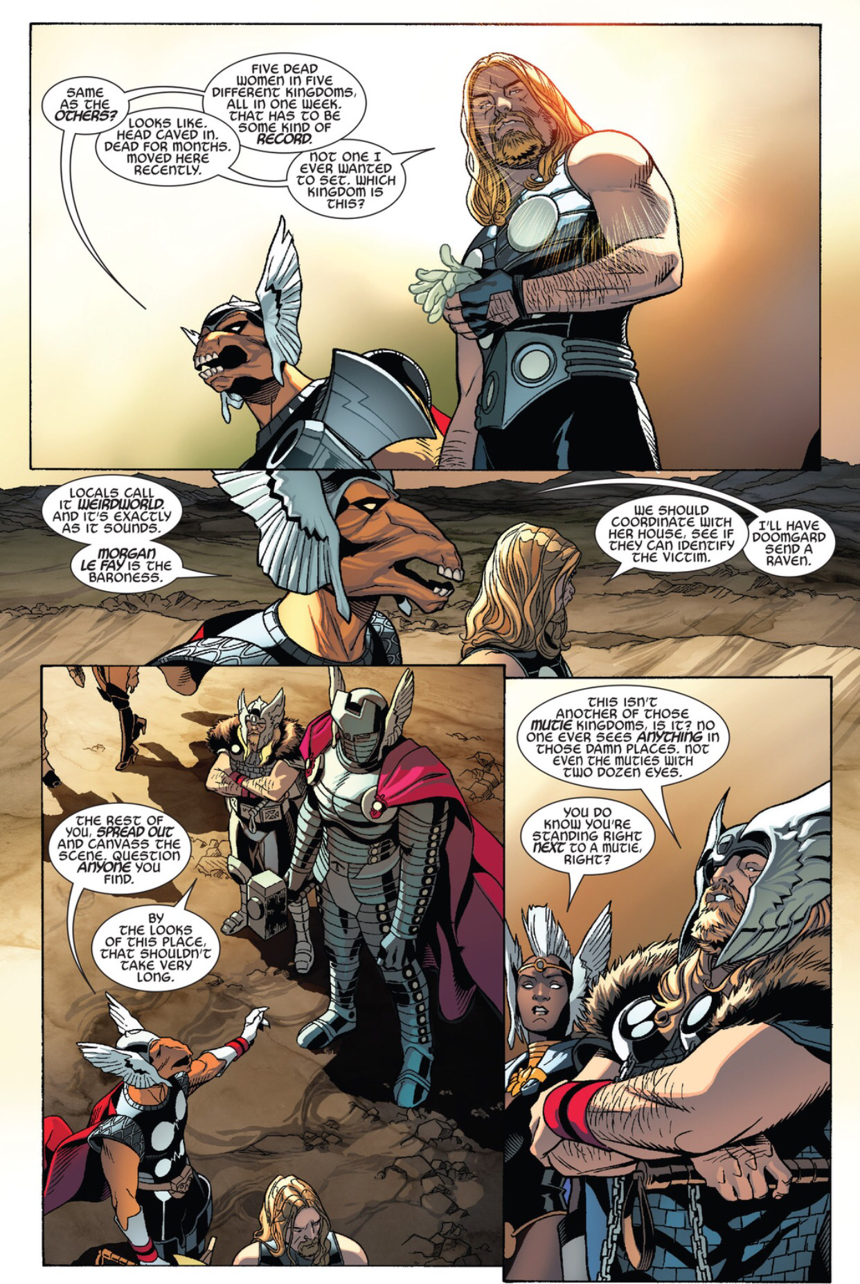 Thors #1 Secret Wars