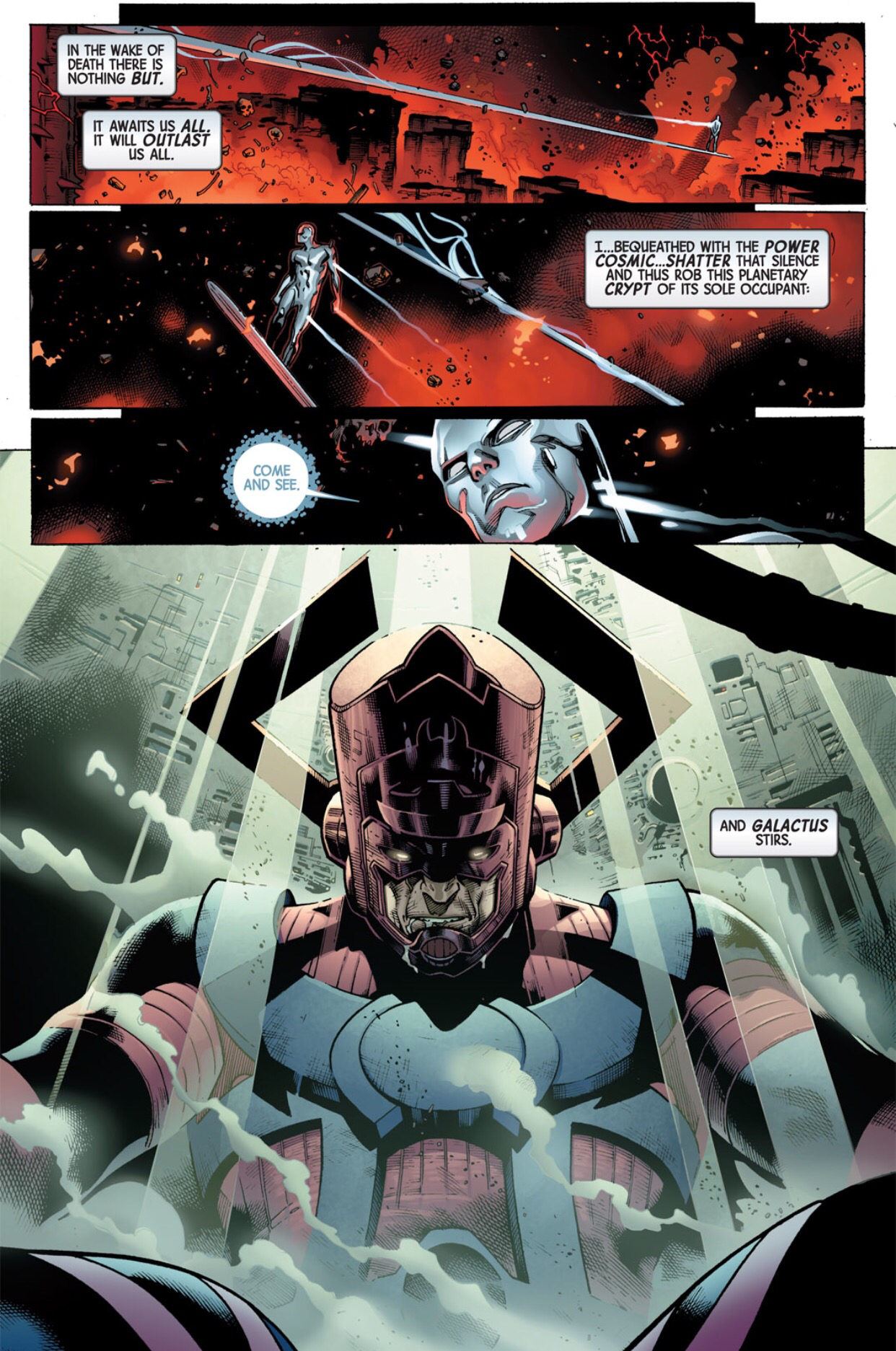 silver surfer the herald of galactus