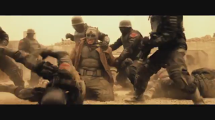Batman V Superman Dawn of Justice desert gear camo