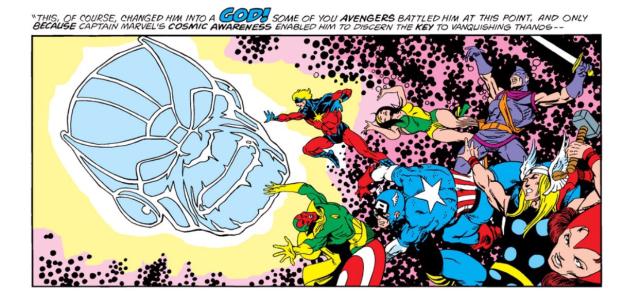 Thanos Infinity Gems