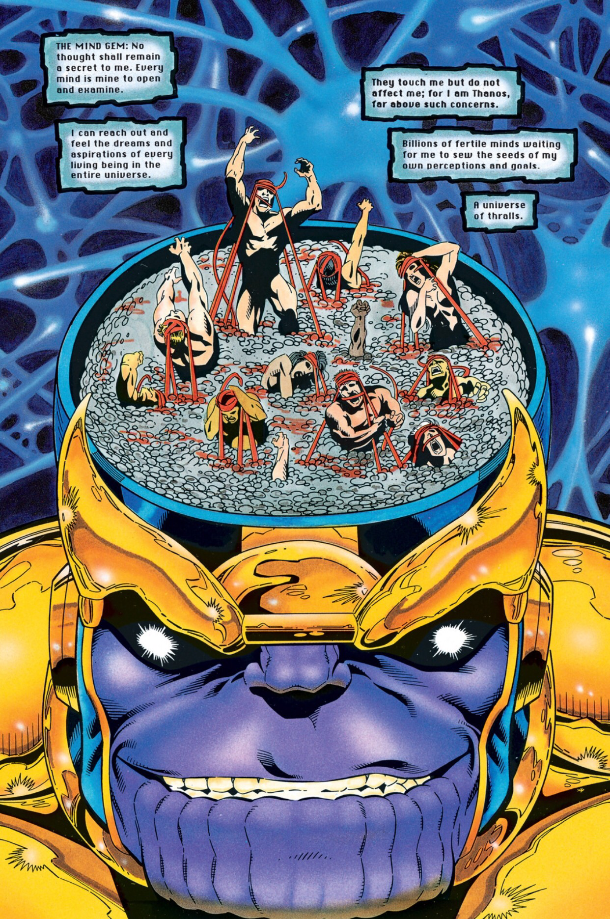 the infinity gems the mind gem
