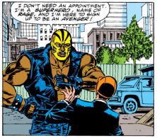 Marvel Comics Rage 1st appearance