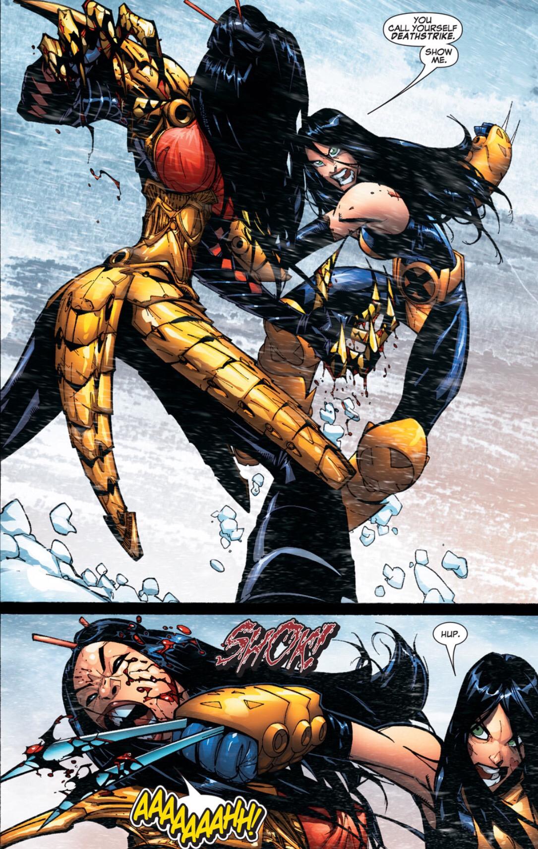 X-23 vs. Lady Deathstrike X 23