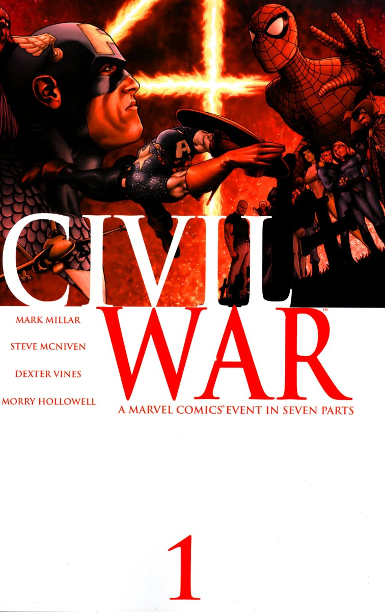 How the New Warriors kicked off Civil War (2006).