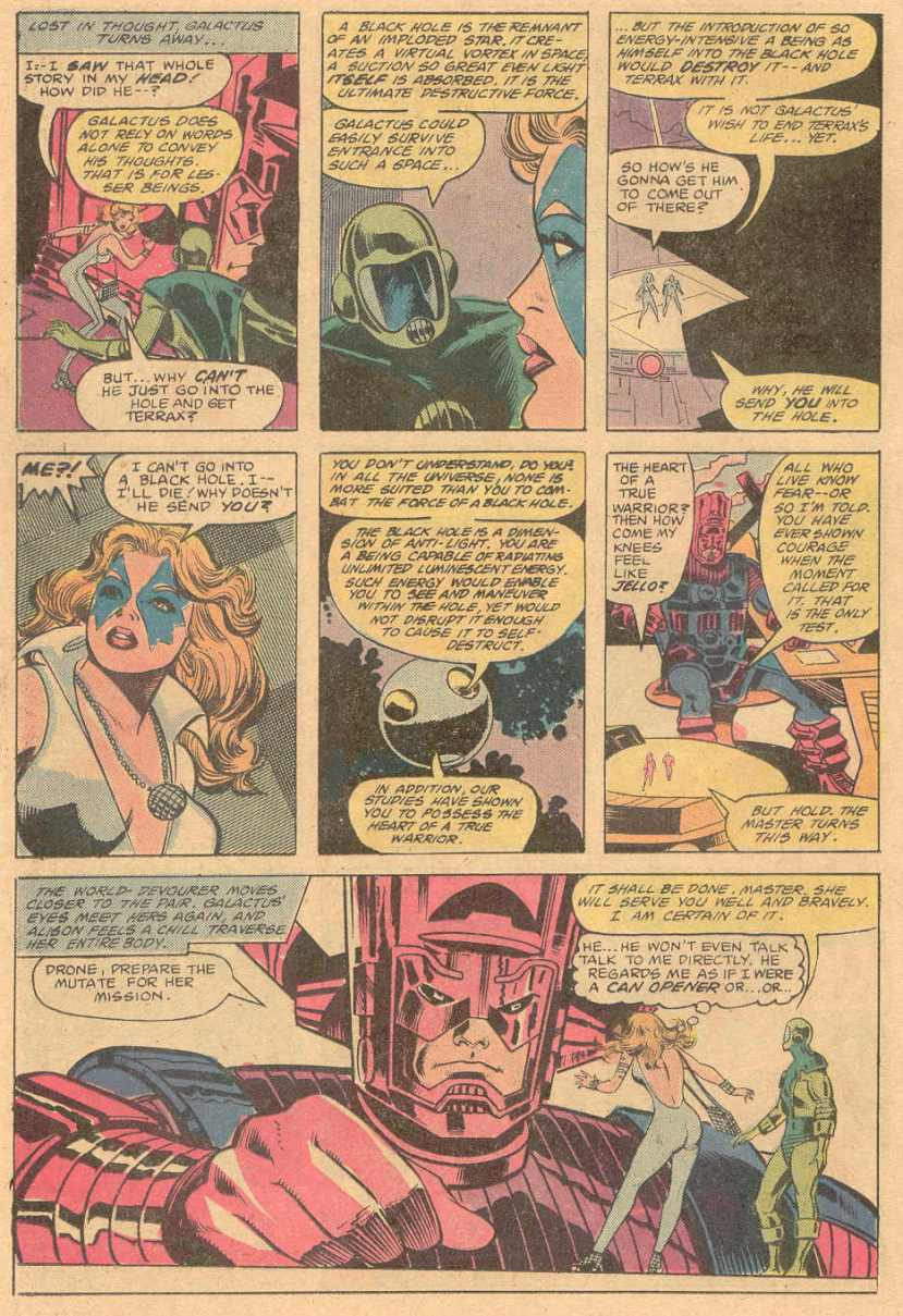 Dazzler and Galactus