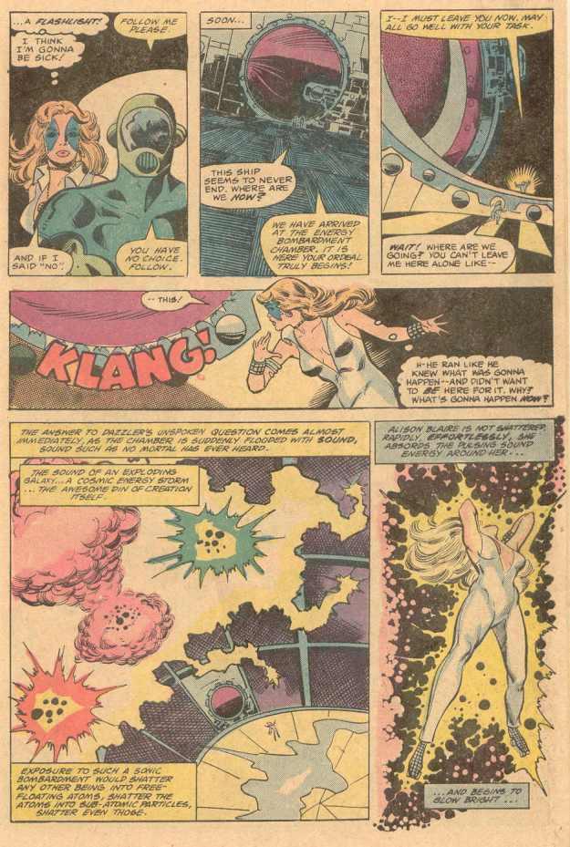 Dazzler and Galactus