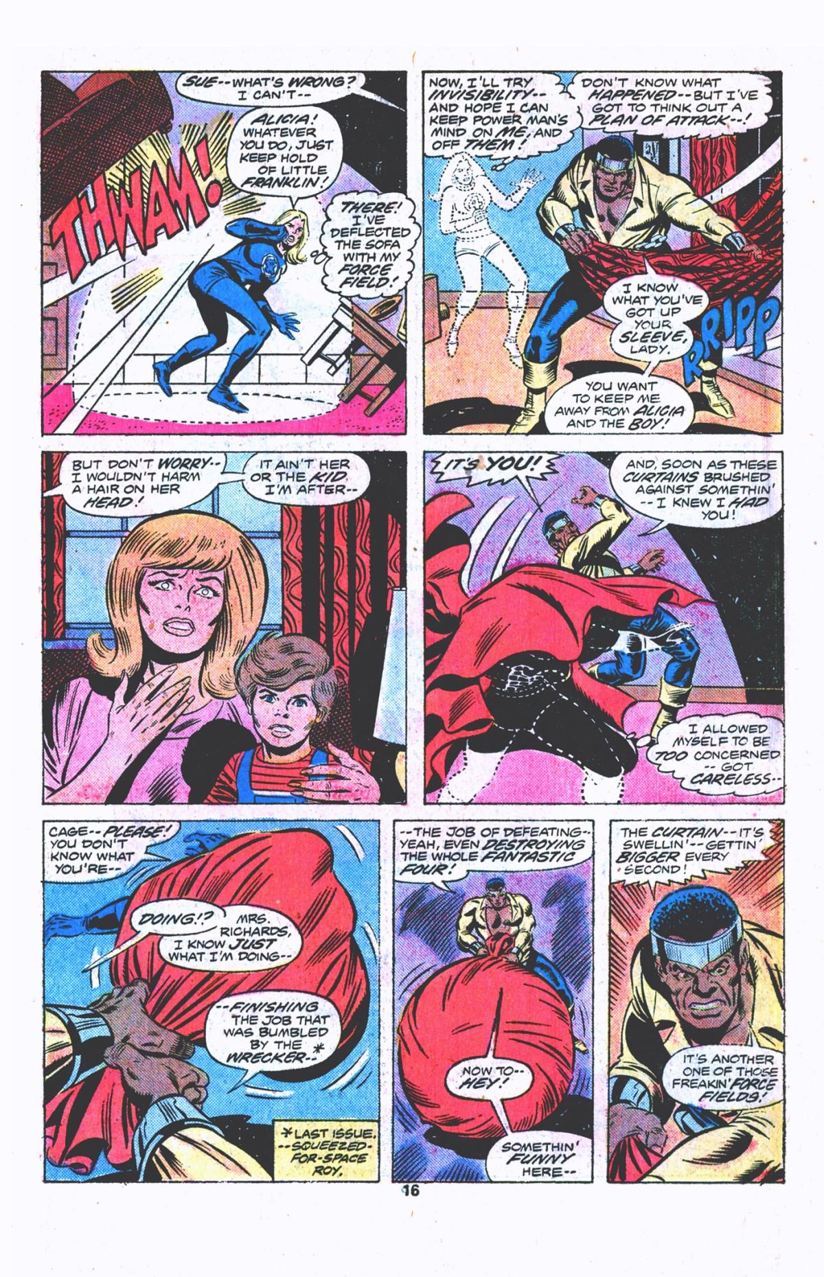 Luke Cage vs. The Fantastic Four