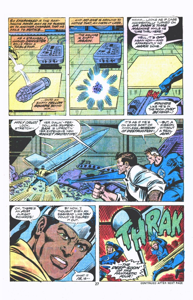 Luke Cage vs. The Fantastic Four