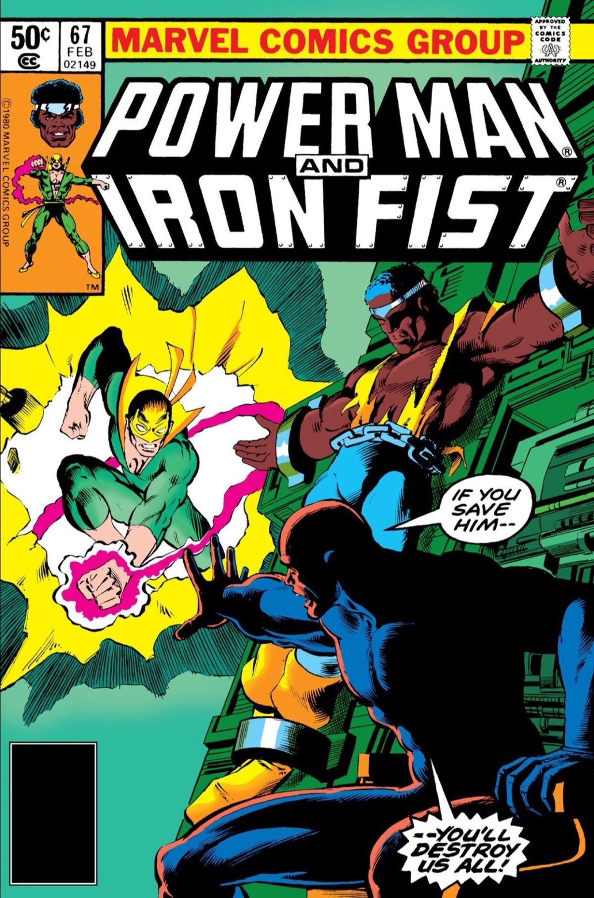 Power Man and Iron Fist #67