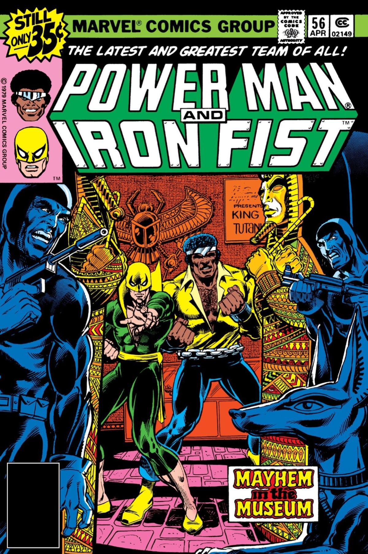 Power Man and Iron Fist #56