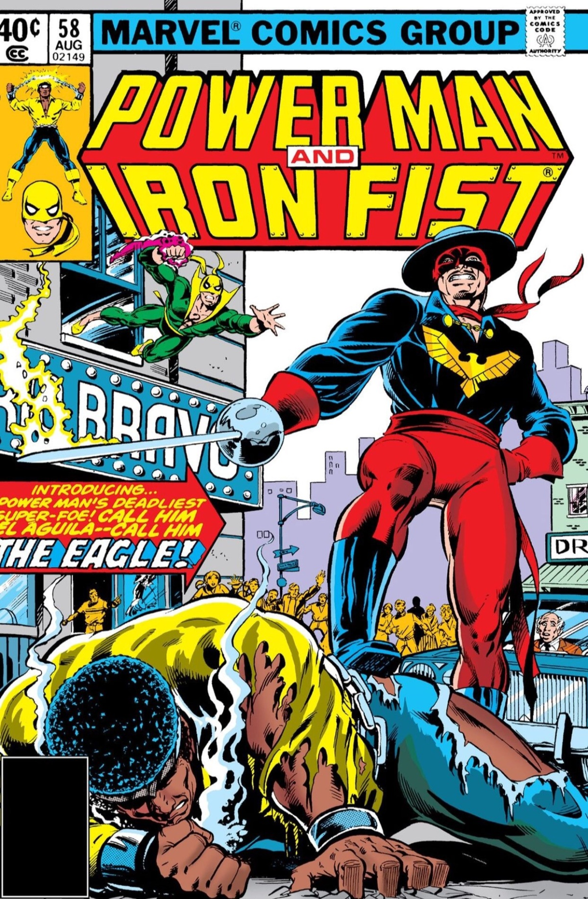 Power Man and Iron Fist #58