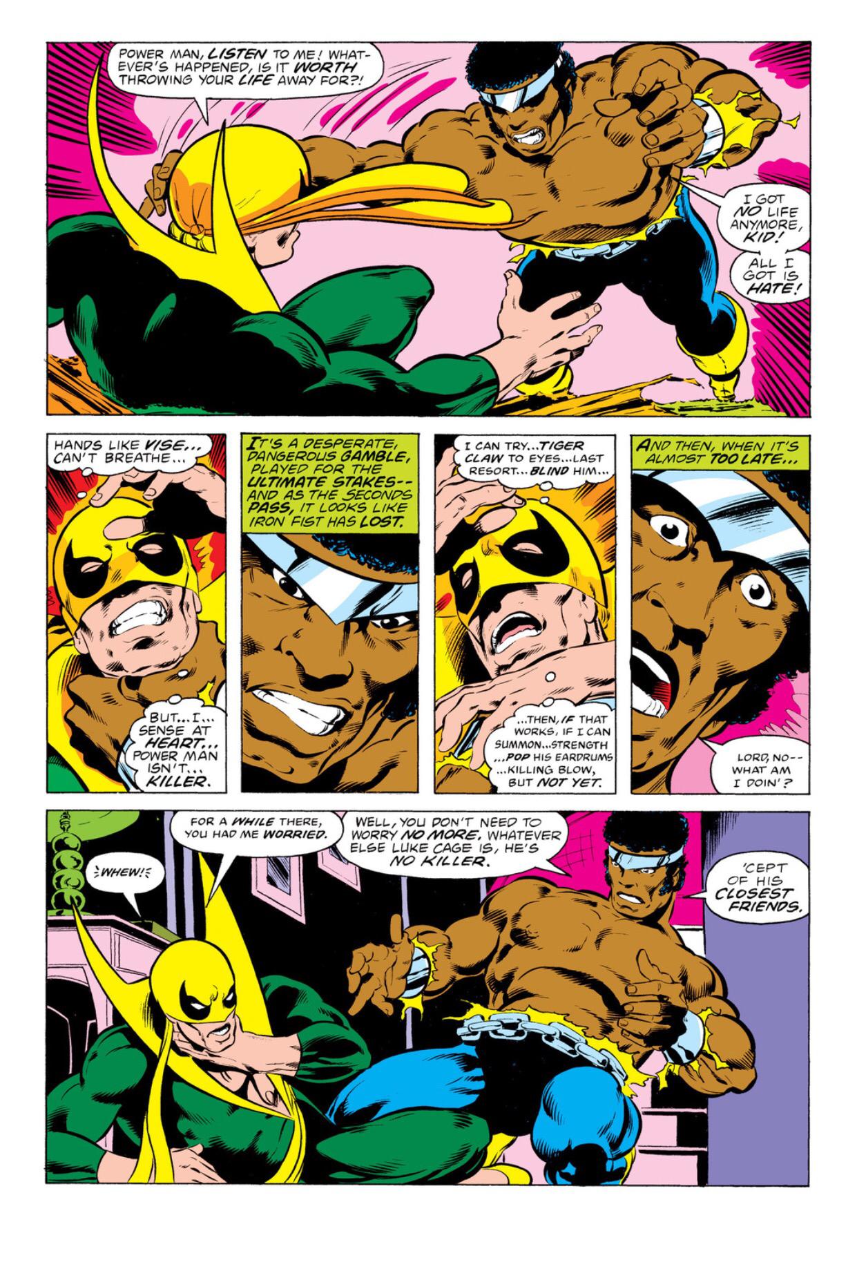 Iron fist vs iron man