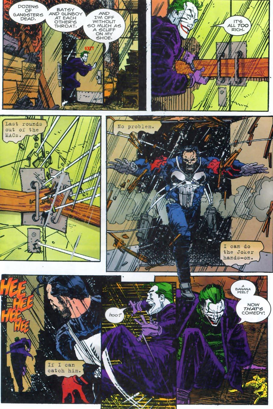 Punisher vs. Batman