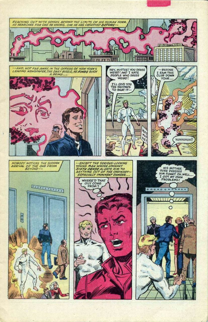 Spider-Man potty trains the Beyonder