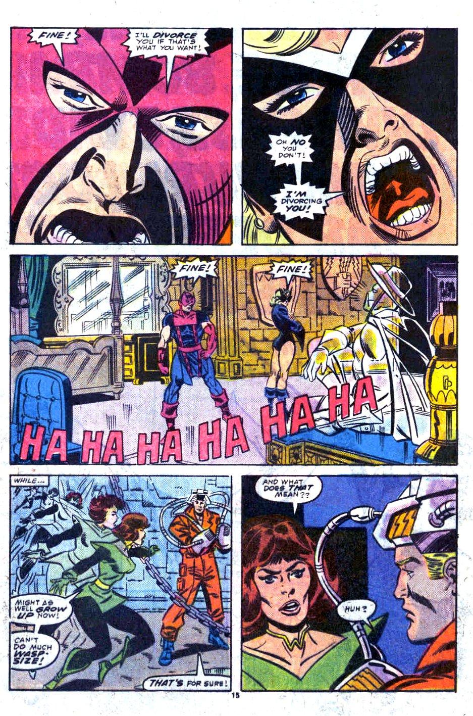 Hawkeye divorce