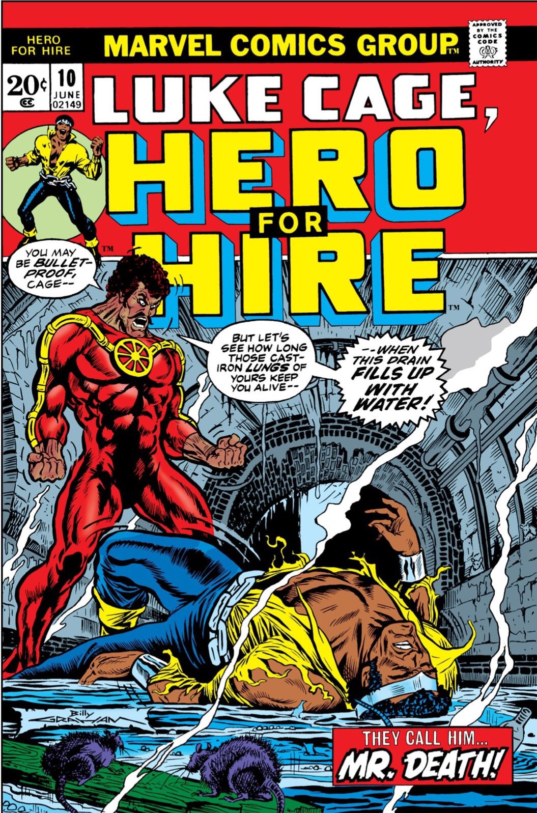 Luke Cage, Hero For Hire (1972-1973) #10