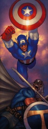 Captain America vs. Taskmaster