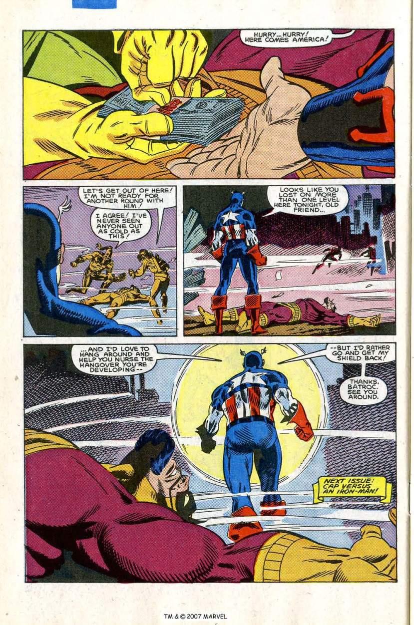 Captain America #303
