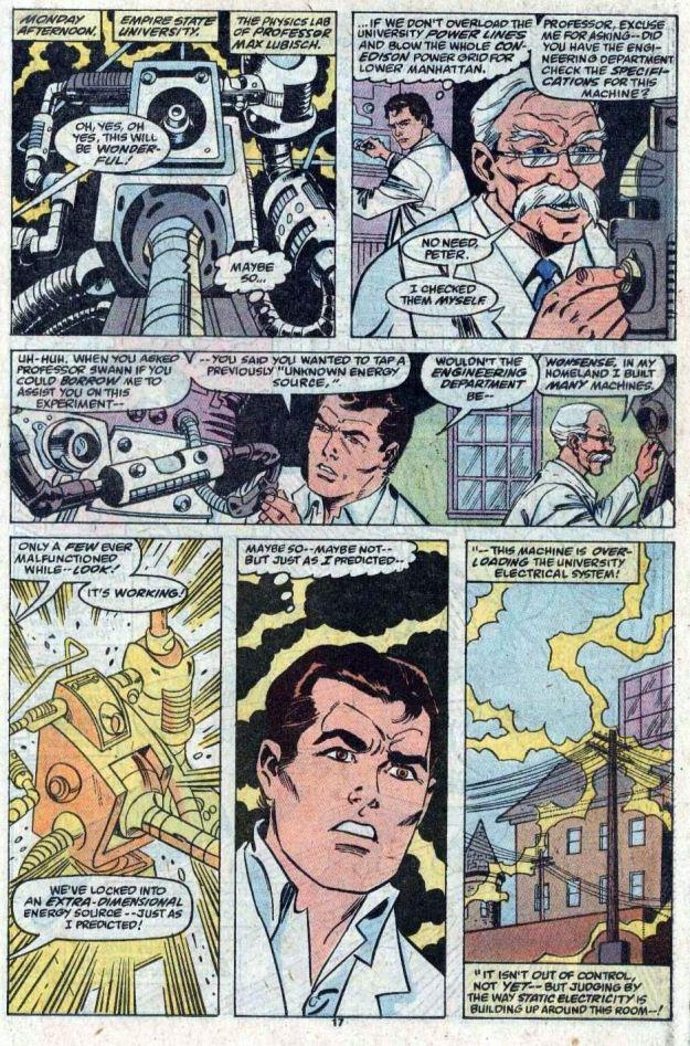 Amazing Spider-Man gets cosmic power