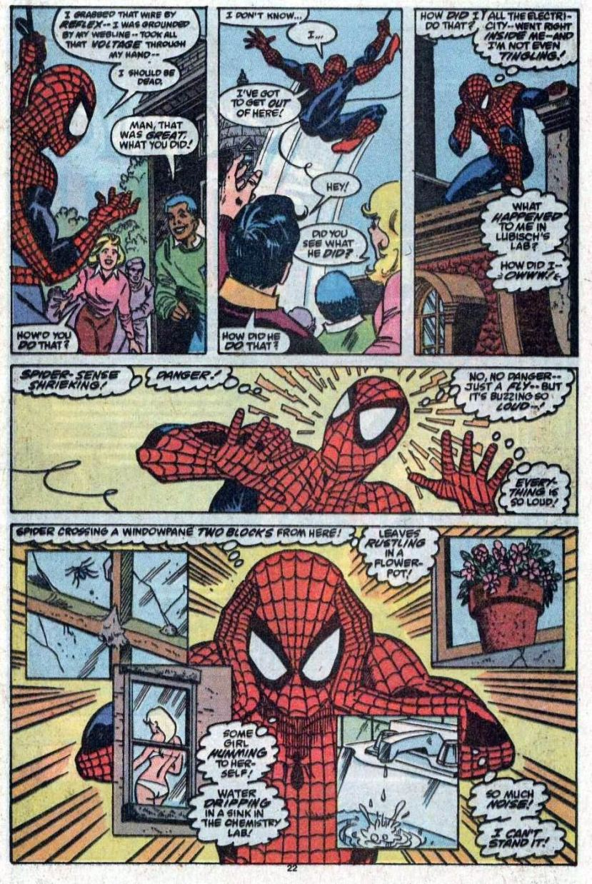 Amazing Spider-Man gets cosmic power