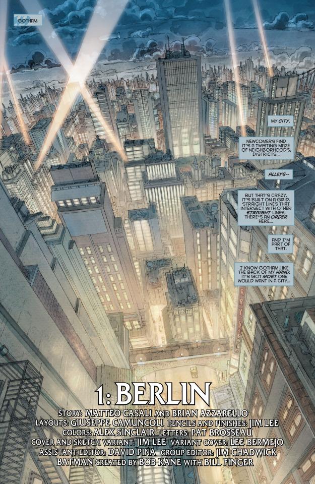 Batman- Europa (2015-) 001-007