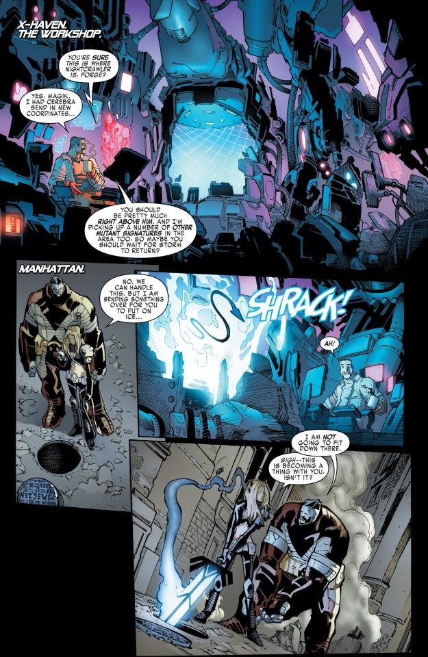 Extraordinary X-Men (2015-) 002-011
