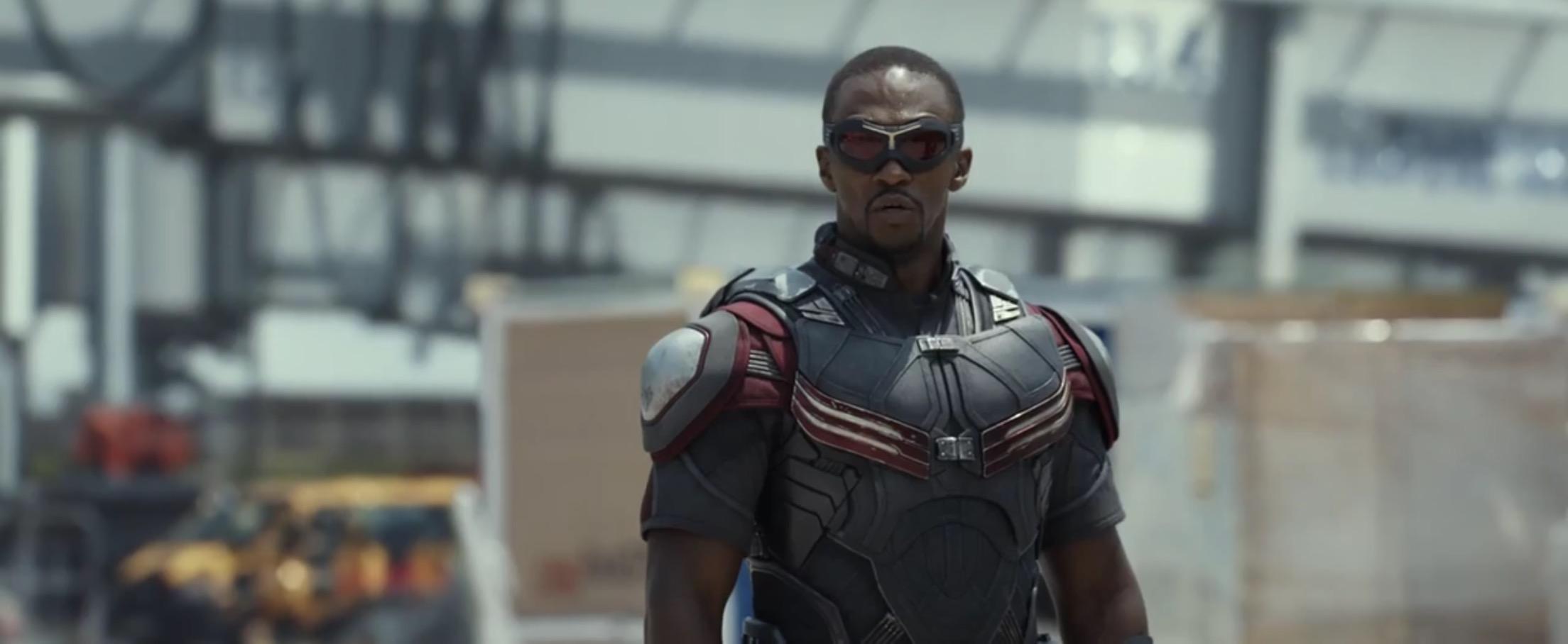 captain america civil war falcon