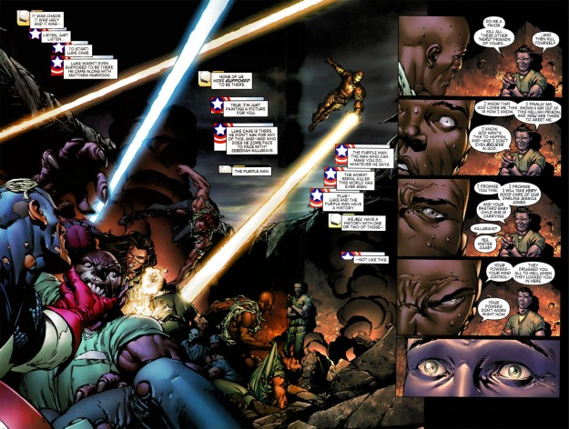 Luke Cage vs. Purple Man