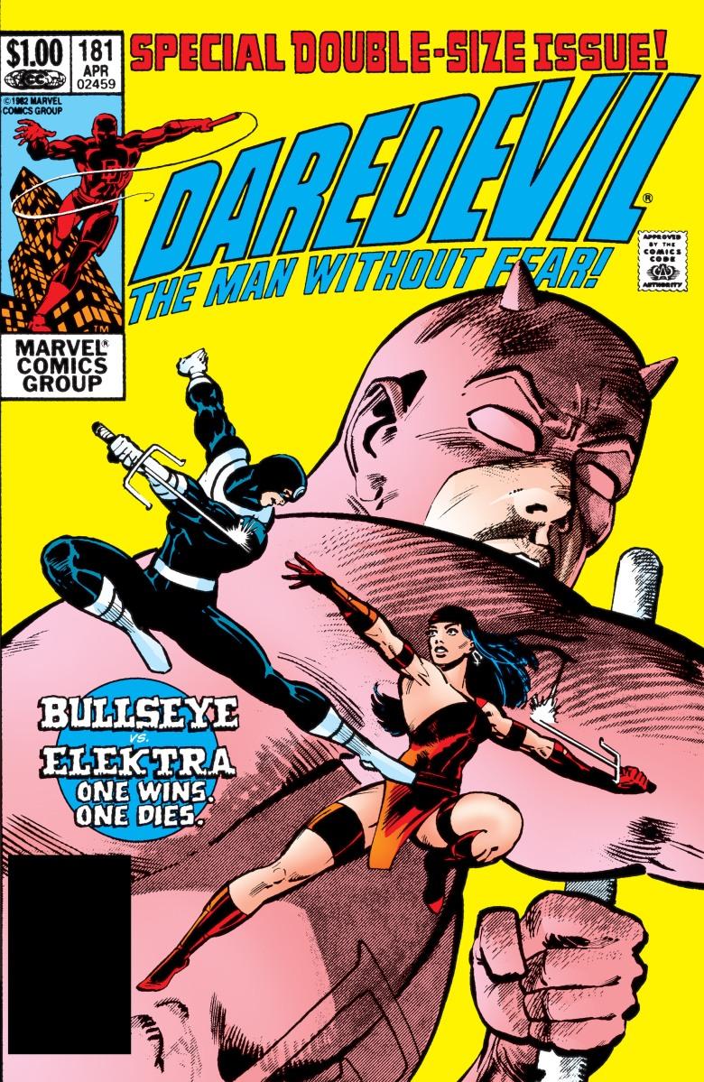 Elektra vs. Bullseye