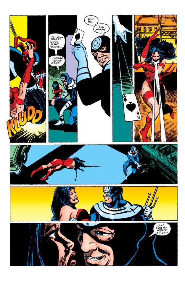 Bullseye kills Elektra