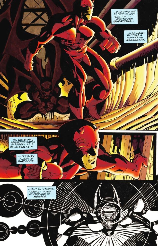 Daredevil and Batman Eye for an Eye 007