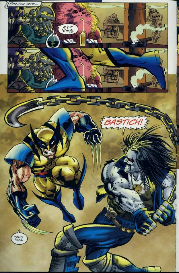 DC vs. Marvel: Wolverine vs. Lobo