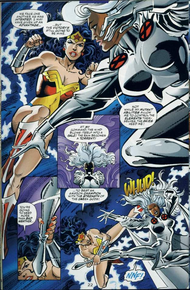 Wonder Woman vs. Storm