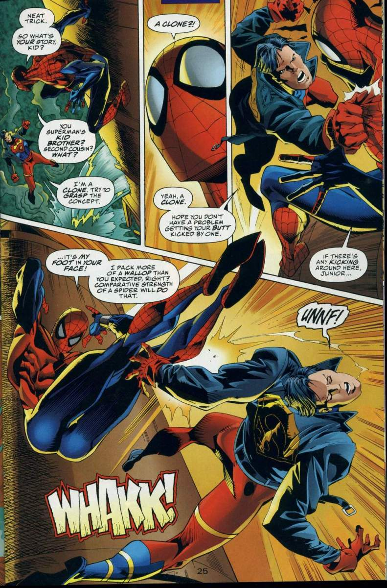 DC vs. Marvel: The Amazing Spider-Man vs. Superboy