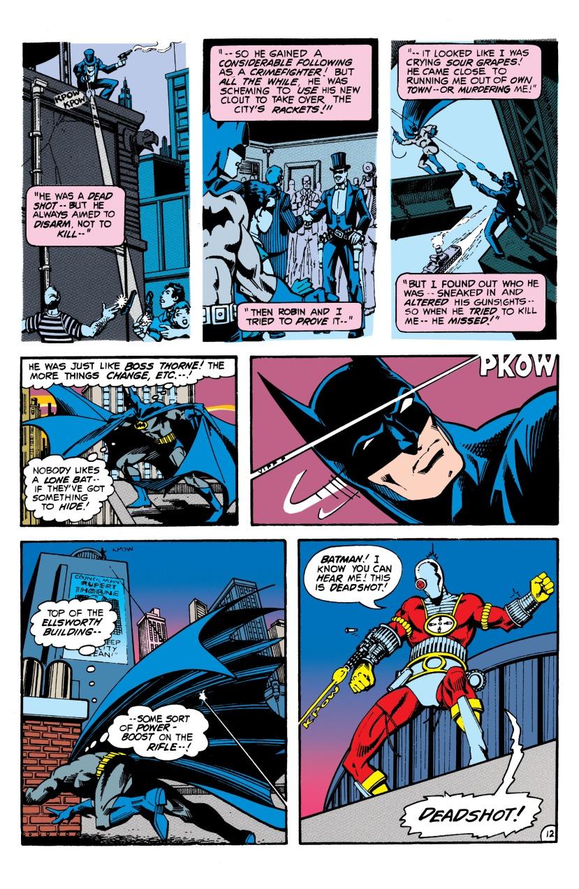 Batman vs Deadshot