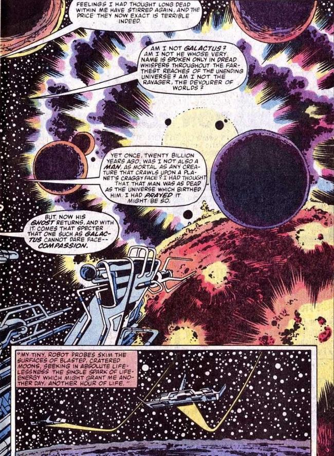 Galactus talks to death