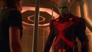 Supergirl Martian Manhunter