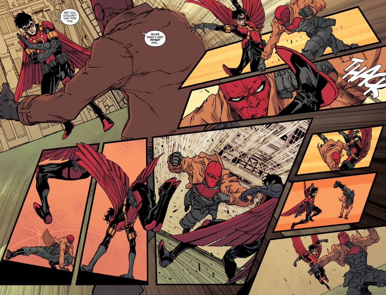 Red Robin vs. Red Hood
