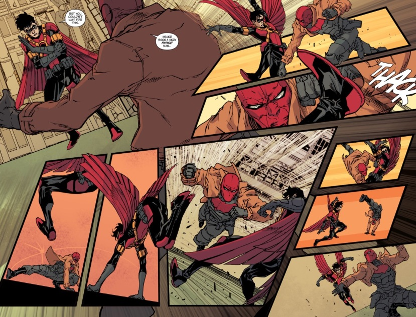 Red Robin vs. Red Hood