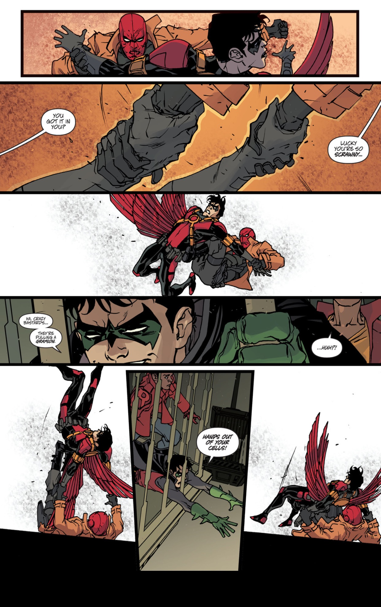 red robin vs red hood robin war