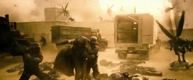 Parademons Batman vs. Superman