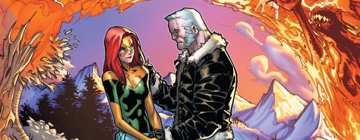 Jean Grey learns the story of Old Man Logan