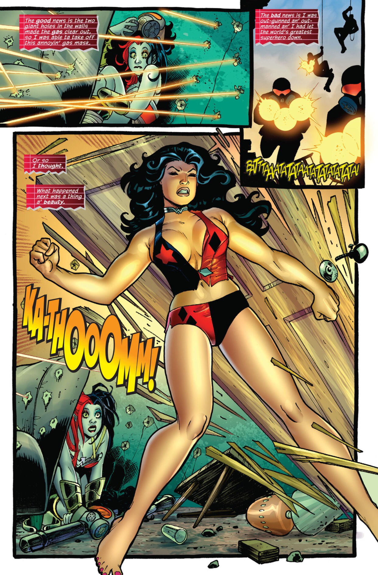 Harley Quinn Wonder Woman