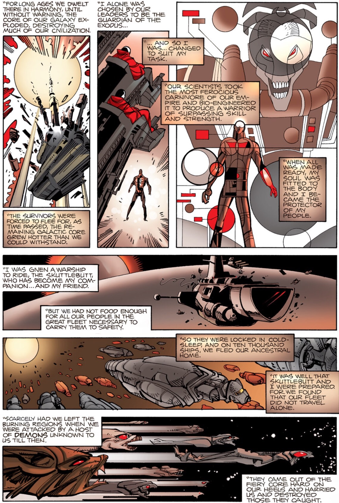 Beta Ray Bill backstory