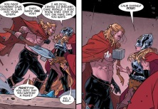 Thor can't lift mjolnir