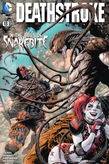 Deathstroke vs. Snakebite