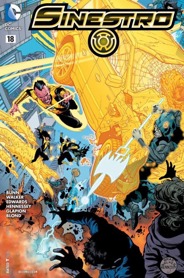 Superman joins Sinestro corps
